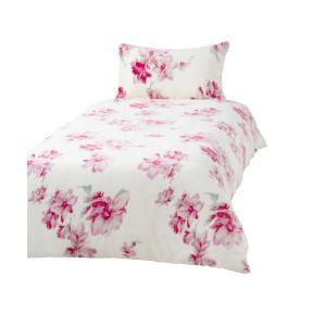 ベッド 寝具 フルラール 掛け布団カバー シングル ピンク