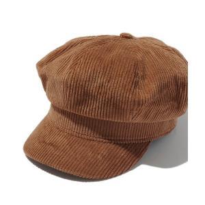 帽子 キャスケット コーデュロイデザインキャスケット