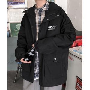 ジャケット ミリタリージャケット YUGA CPOミリタリー調マウンテンパーカー ジャケットコート