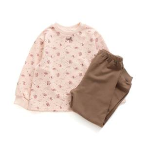ルームウェア パジャマ 女児柄パジャマ 10分丈