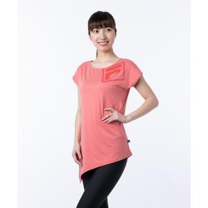 tシャツ Tシャツ 【FILA:フィラ】 デザインTシャツ 水陸両用 ヨガウェア ジム フィットネス...