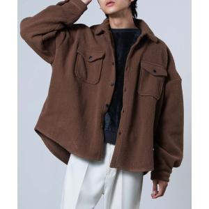 ジャケット ミリタリージャケット WEGO/ボアCPOシャツ