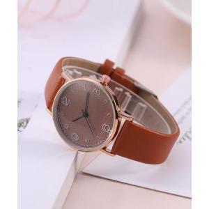 腕時計 【MAISON BREEZE MUSE】ラウンドフェイスウォッチ|ZOZOTOWN PayPayモール店