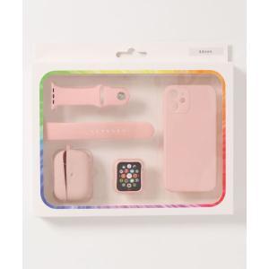 モバイルケース iPhone12miniケース/Apple Watchケース/Apple Watchバンド/air podsケース 4点セット|ZOZOTOWN PayPayモール店