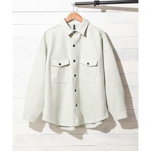 ジャケット ミリタリージャケット 【Ir】ポリスエードCPOシャツジャケット