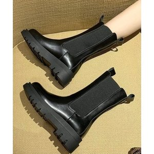 ブーツ レディース 靴 サイドゴアブーツ boots ローヒール 通勤通学 ブーツ