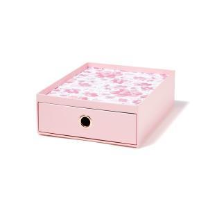 文房具 ペティート ステーショナリーボックス ピンク