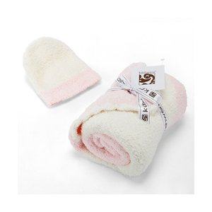 ブランケット KASHWERE Baby Blanket-Rugby Center Stripe w...