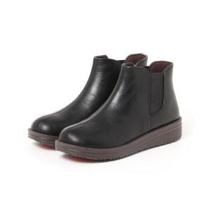 ブーツ 【軽量】ふんわりクッションサイドゴアブーツ 9782