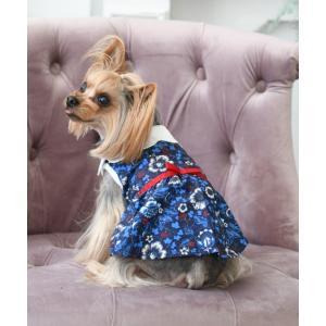 ペット LAURA ASHLEY/ローラアシュレイ/リボンベルトワンピ/犬服(ドッグウェア)|ZOZOTOWN PayPayモール店
