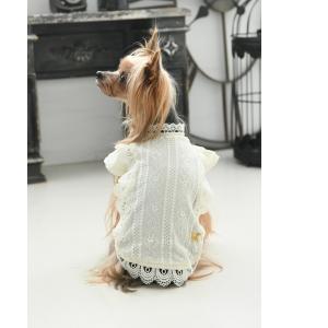 ペット ROPE PICNIC/ロペピクニック/レースラインブラウス/犬服(ドッグウェア)|ZOZOTOWN PayPayモール店