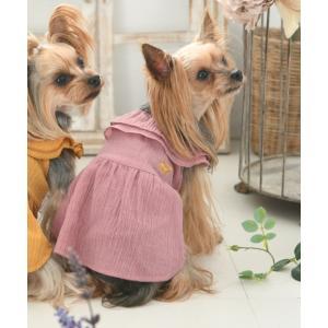 ペット ROPE PICNIC/ロペピクニック/ビッグカラーナチュラルワンピース/犬服(ドッグウェア)|ZOZOTOWN PayPayモール店