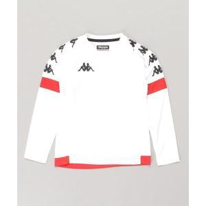 tシャツ Tシャツ Kappa(カッパ)【JUNIOR】ジュニア長袖プラクティスシャツ