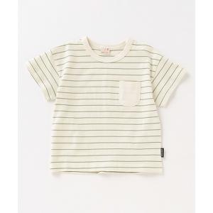 tシャツ Tシャツ 胸ポケットボーダーTシャツ