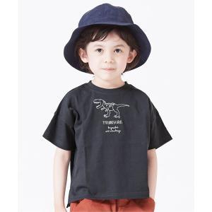 tシャツ Tシャツ 6柄恐竜刺繍Tシャツの画像