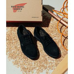 シューズ モカシン デッキシューズ RED WING × BEAMS / 別注 Postman Oxford Shoes GORE-TEX(R)|ZOZOTOWN PayPayモール店