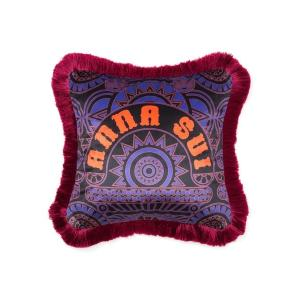 クッション クッションカバー ANNA SUI クッションカバー ロゴ 450×450 パープル|ZOZOTOWN PayPayモール店