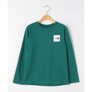 tシャツ Tシャツ ◆<THE NORTH FACE(ザノースフェイス)>TJ スモールスクエア ロゴTシャツ 130cm-150cm−ウォッシャブルの画像