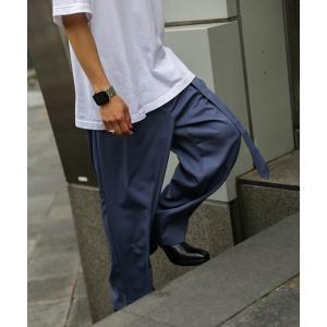パンツ スラックス Two Tuck Belt Slacks Pants(ツータックスラックスパンツ...
