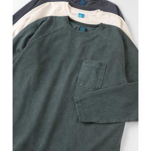 tシャツ Tシャツ 【Good On/グッドオン】ヘビーウェイト ラグランロングスリーブ ポケットT...