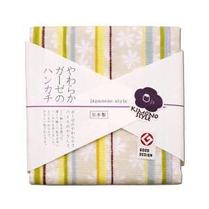 タオル ハンカチ 【カヤ】japanese style やわらかガーゼのハンカチ 和モダン