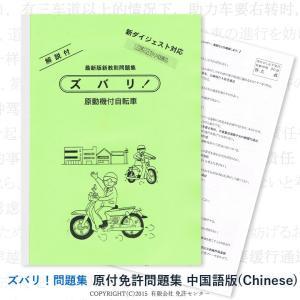 このページは  【 原付免許問題集 翻訳中国語版(Chinese)】  の販売ページです。    『...