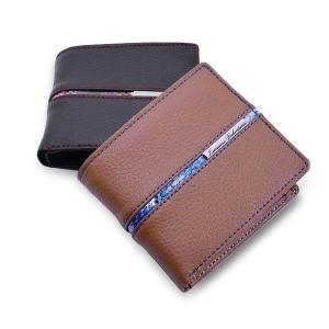 二つ折り財布 牛革レザー 折り財布 メンズ レディース財布 LUCIANO VALENTINO ルチアーノ バレンチノ LUV-1022