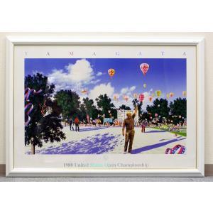 USオープン1980年(額入りアートポスター) ヒロ・ヤマガタ/山形博道|zumi