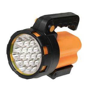 LEDビッグハンディライト 懐中電灯 ランタン 19灯 長寿命高輝度 防災 単一電池使用|zumi