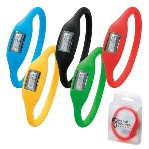 シリコン腕時計 ランニングやレジャーに最適! (全5色)雨にも強い 防滴 シリコンウォッチ【1個よりご注文OK】|zumi