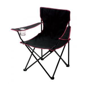 折りたたみチェア 折りたたみイス 折り畳み椅子 ワイド型 大きめ ドリンクホルダー付き zumi