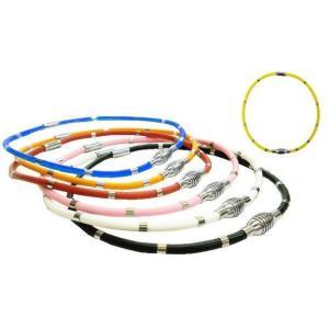 磁気ネックレス マグネットループ  磁気ループ 肩 首 メンズ ランキング1位 磁石 シリコンパワーバランス 父の日 代引き不可 協賛特別価格|zumi