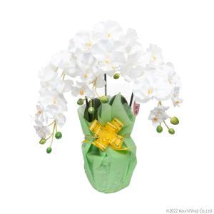 胡蝶蘭 光触媒 花 脱臭 消臭効果あり 枯れない 造花 ピンク ホワイト イエロー プレゼント 3本立て 全3色 母の日 zumi 04