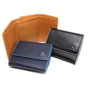 送料無料 ARNOLD PALMER アーノルドパーマー 短財布 三つ折り メンズ 牛革ウォレット 4AP3039 ブラック ブラウン ネイビー 父の日|zumi