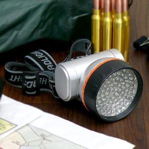 LEDヘッドライト ヘッドランプ 懐中電灯 明るい 76灯 3段階切替 防滴|zumi