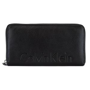 カルバンクライン Calvin Klein  長財布 CK79474 メンズ 男性 小銭入れ付き ラウンドファスナー BLACK ブラック 父の日 zumi