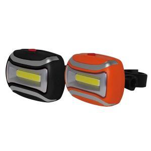COB サイクルライト 自転車ライト 自転車用ライト 高輝度!! 夜間の走行も安心安全 赤色点灯も可能 LED 自転車設置用アタッチメント付き【代引き不可】|zumi