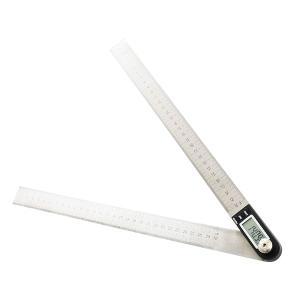 デジタル角度計 分度器とステンレス定規が一体化【あすつく】|zumi