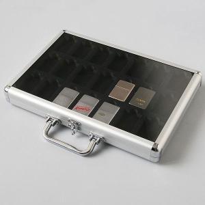 ライター収納ケース アルミライターケース  コレクション ZIPPO ジッポー  42個収納 zumi