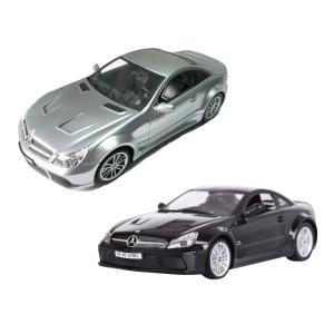 1:14スケール ラジコンカー(正規ライセンス) RC  Mercedes-Benz(メルセデス ベンツ) SL-65 E605 ブラック シルバー zumi