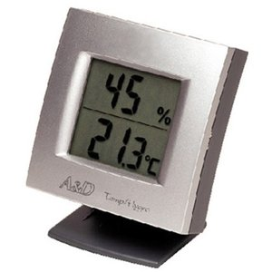 A&D インテリア温湿度計 AD-5649 エーアンドデイ|zumi