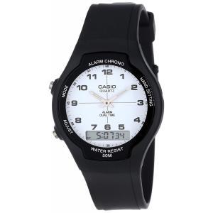 送料無料 CASIO カシオ AW-90H-7B スタンダード 腕時計 STANDARD メンズ アナデジ チープカシオ チプカシ|zumi