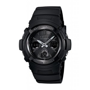 CASIO メンズ腕時計 G-SHOCK AWG-M100B-1A 海外モデル 電波ソーラー|zumi