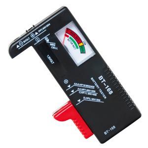 バッテリーテスター 乾電池残量チェッカー BT-168 まとめ買いにオススメ 電池残量測定器 zumi