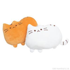 送料無料 ネコ型 クッション もちもち ふわふわ ぬいぐるみ 抱き枕 猫型 インテリア zumi