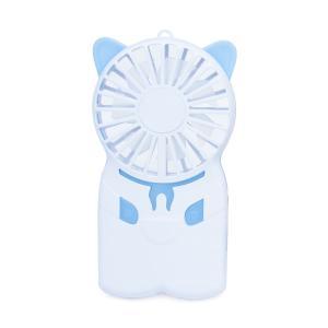 ネコ型ハンディファン アウトドア 充電式 薄型|zumi