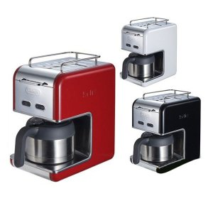 デロンギ ドリップコーヒーメーカー CMB5T-WH CMB5T-BK CMB5T-RD kMix Collection プレミアム ポイント2倍|zumi