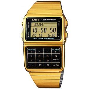 送料無料 CASIO カシオ DBC-611G-1 ゴールド データバンク カリキュレーター DATA BANK 腕時計 デジタル STANDARD スタンダード メンズ チープカシオ チプカシ|zumi