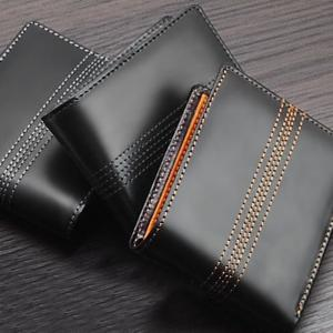 ダイアナ ディッキー メンズ 二つ折り財布 ステッチ DM-103 財布メンズ二つ折り財布サイフさいふ|zumi