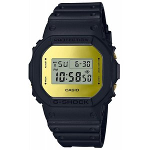 送料無料 G-SHOCK DW-5600BBMB-1 ジーショック 腕時計 メンズ  ゴールドミラー ミラーダイアル|zumi